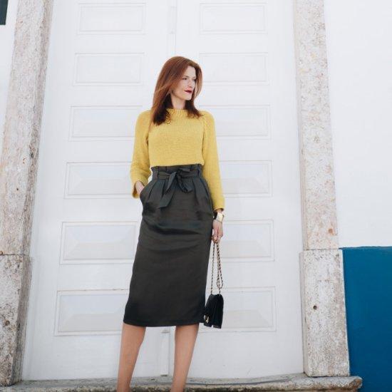Midi Skirt & Louboutin