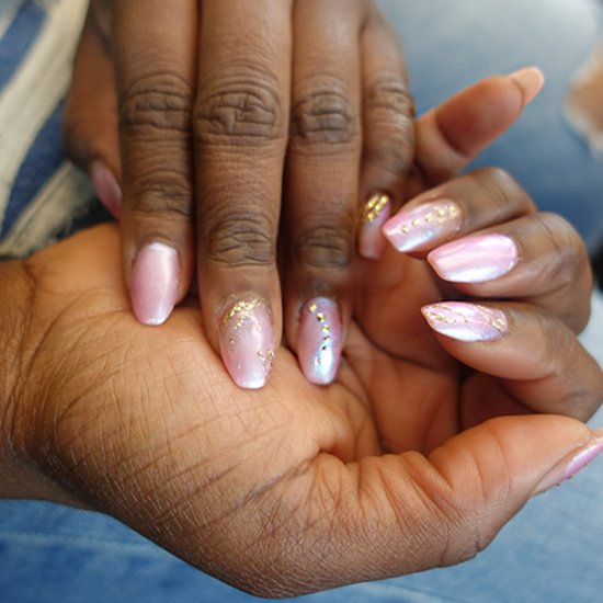 Pink gallery stylegawker diy fake nails no gel or acrylic solutioingenieria Gallery